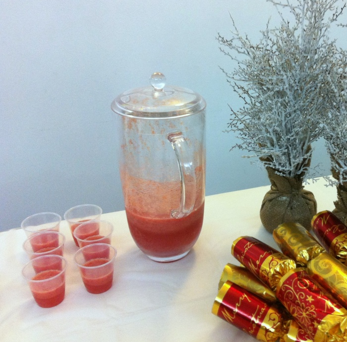Strawberry Coolers, Festive Flavour