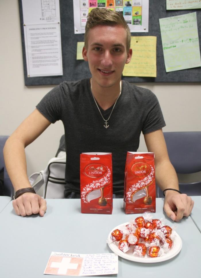 Jeremy's Super Swiss Chocolate