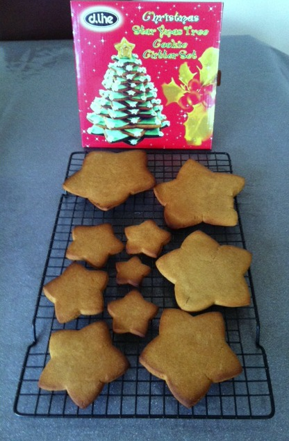 Cookie Christmas Tree is Go!