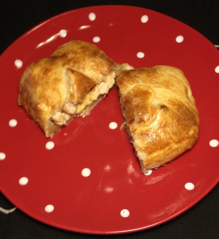 Simple Chicken Pie - Inside