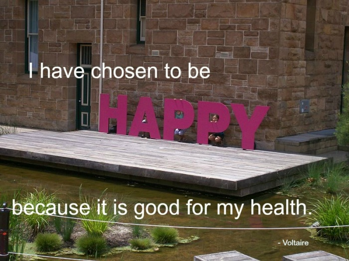 Happiness is good for your health!