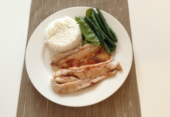 Soy and Sweet Chilli Fish