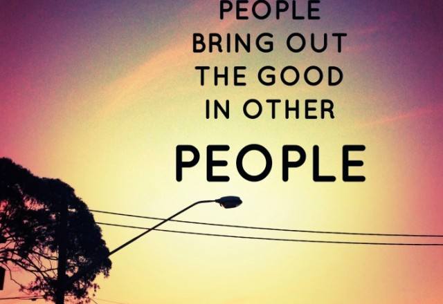 Wednesday Words of Wisdom – Good People