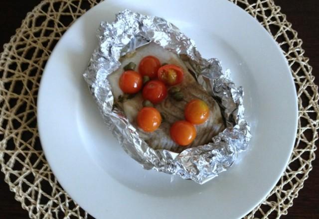 Herb and Tomato Fish Bundles