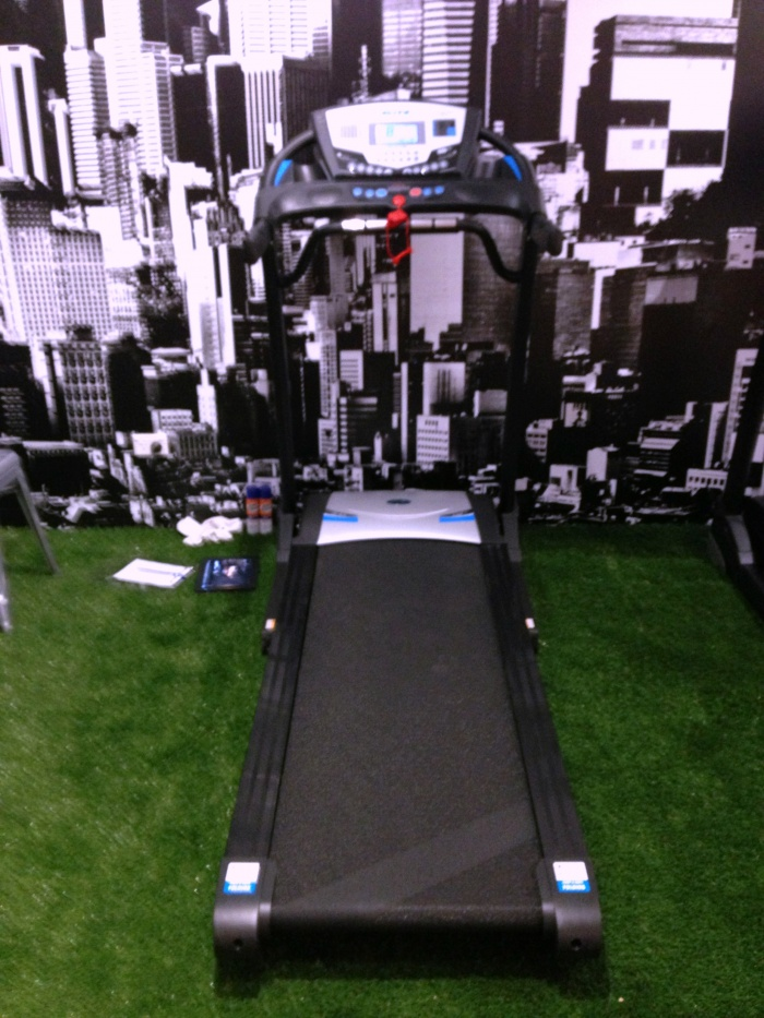 Test Runs at the Nike Running Den