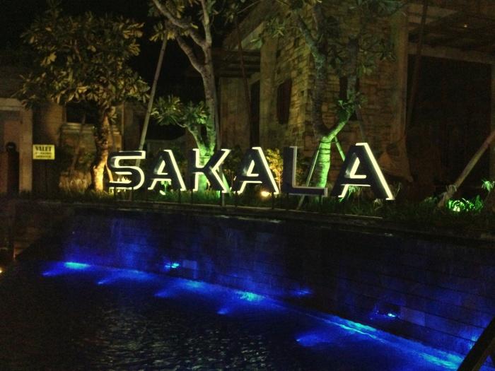 Outside Sakala, Nusa Dua, Bali