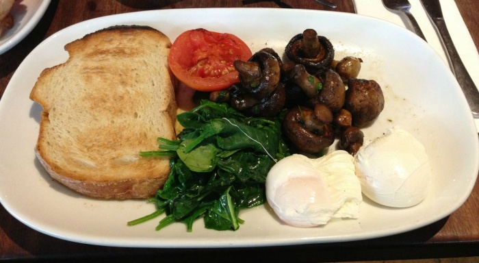 Herbivore's Breakfast, Gus' Cafe, Canberra