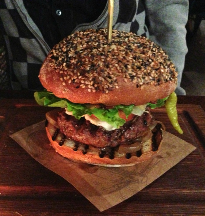 A beast of a burger, Jamie's Italian.