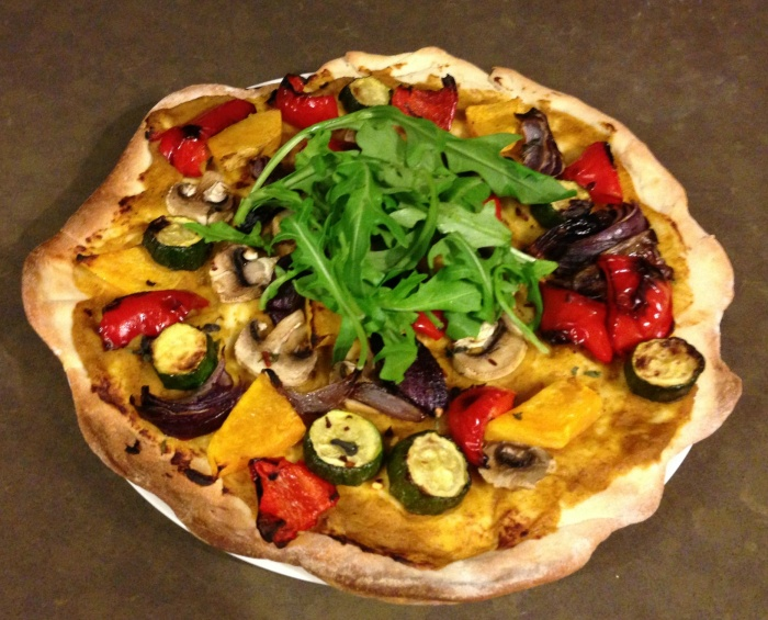 Meatless Monday - Ultimate No Cheese Pizza