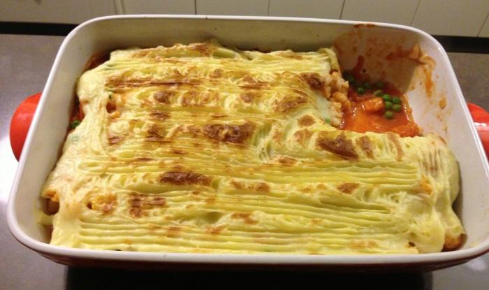 Winter Vegetable Pie - it's yummy!