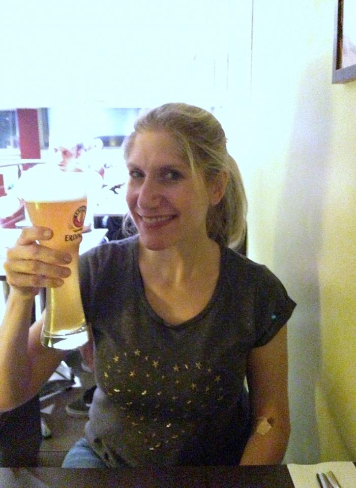 Cheers to good news