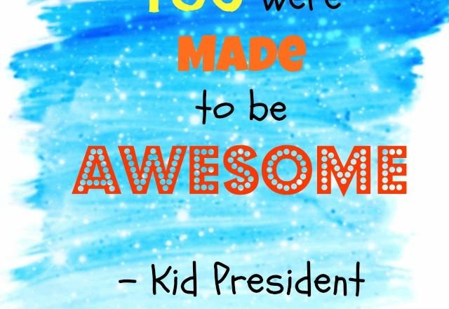 Wednesday Words of Wisdom – Kid President