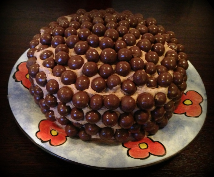 The Malteser Cake