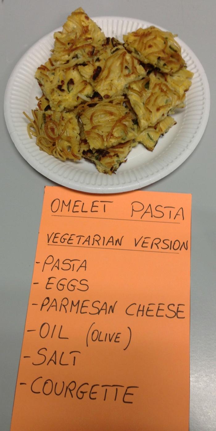 Meatless Monday - Pasta Omelette