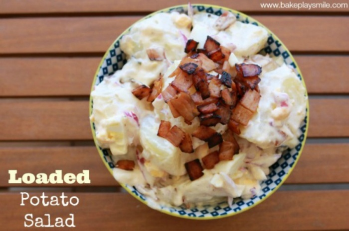 Bake Play Smile Loaded Potato Salad