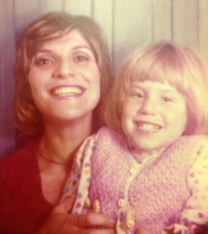 Me and my mum - circa 1974