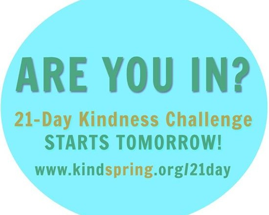 The 21 Day Kindness Challenge
