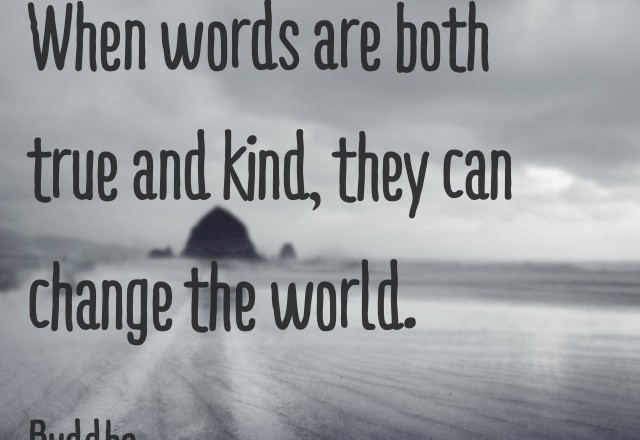 Wednesday Words of Wisdom – Words that change the world