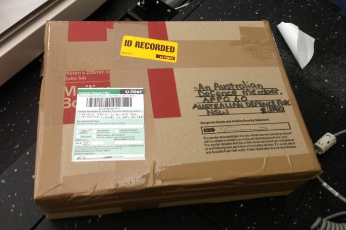 soldier-parcel
