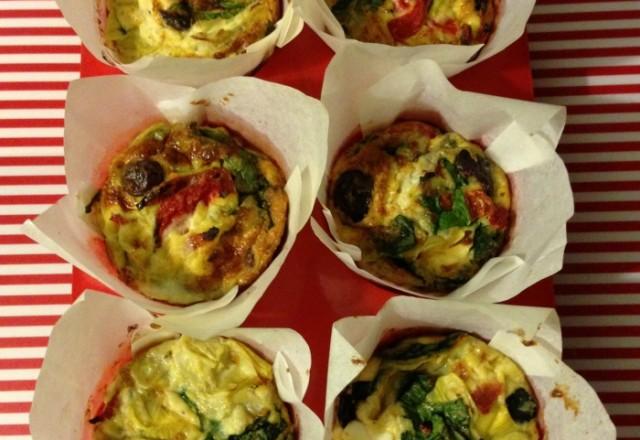 Meatless Monday – Mediterranean Feta Frittatas