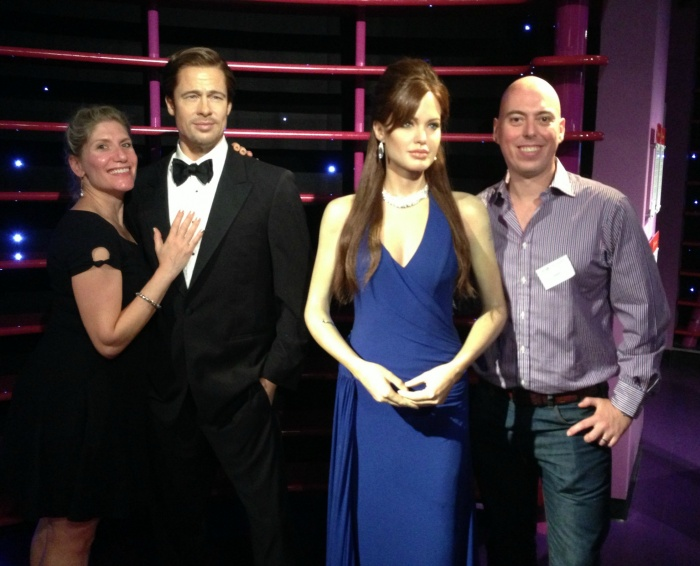 From one power couple to another, Madame Tussaud's, Sydney