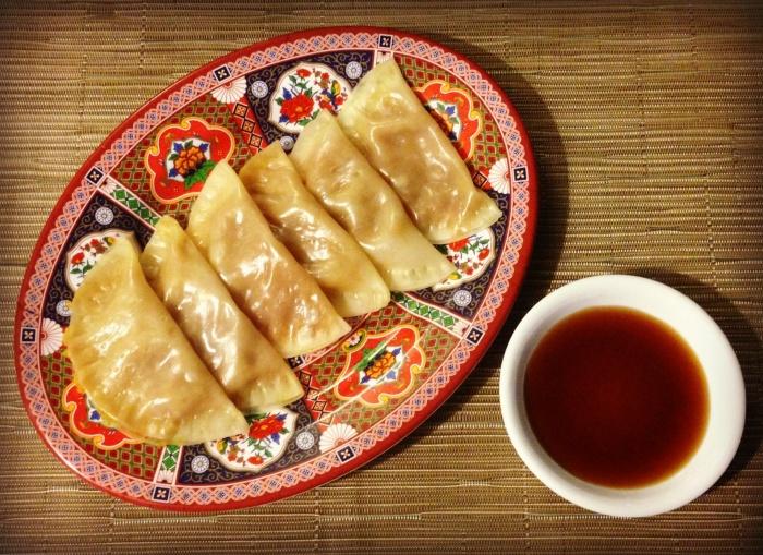 Meatless Monday - Steamed Vegetarian Dumplings