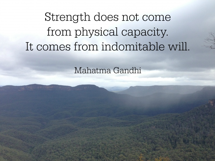strength-gandhi