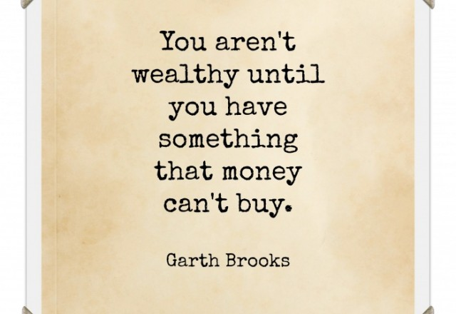 Wednesday Words of Wisdom – Garth Brooks