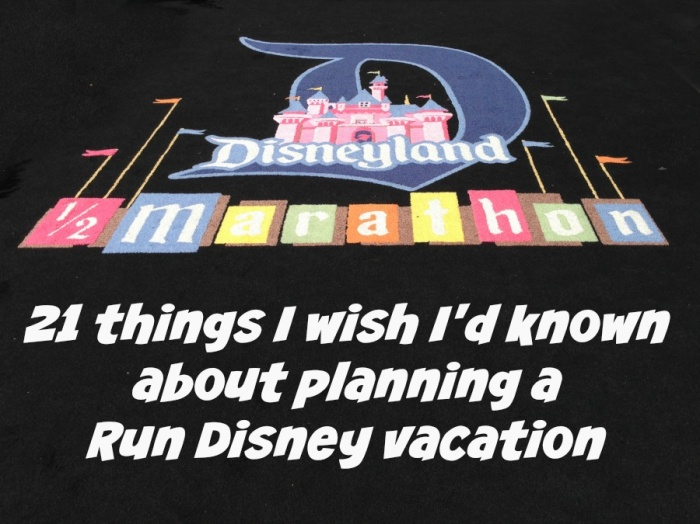 20 things to know Run Disney vacation