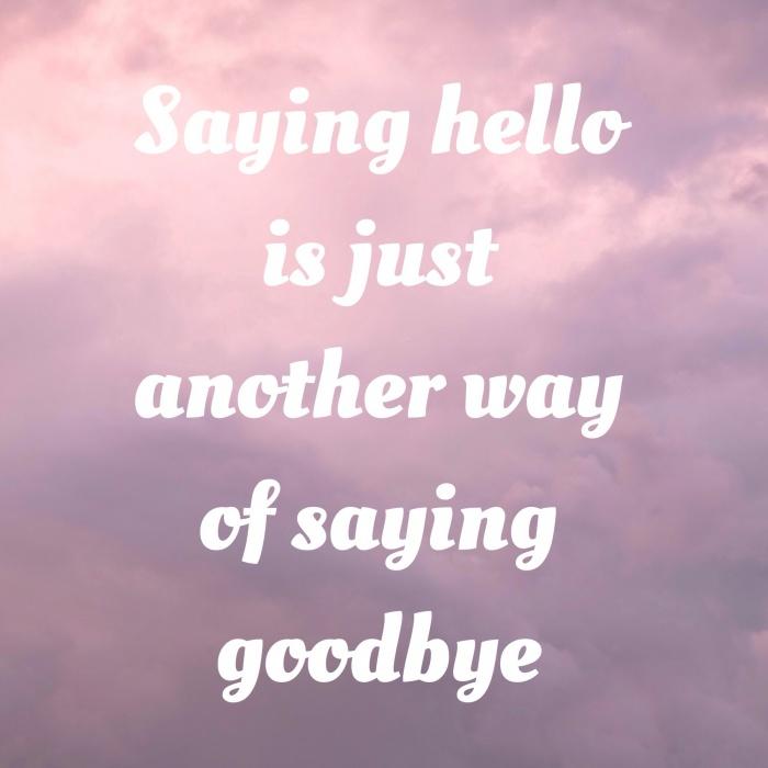 saying-hello