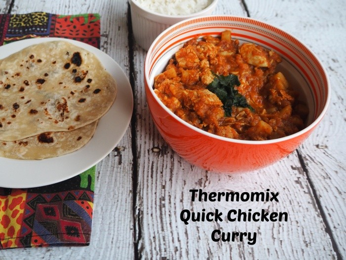 Thermomix Quick Chicken Curry