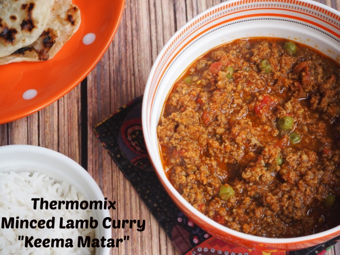 Thermomix Minced Lamb Curry