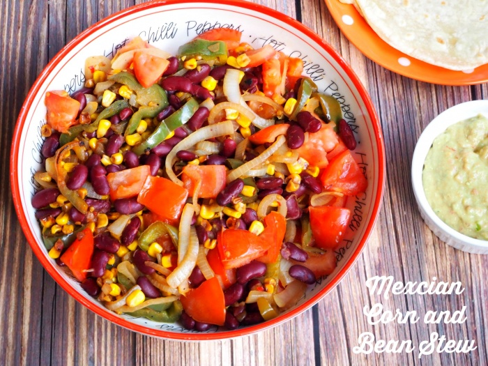 Mexican Corn and Bean Stew