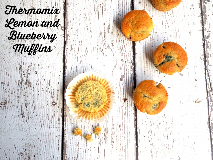 Thermomix Lemon and Blueberry Muffins