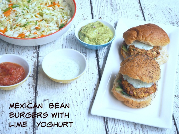 Meatless Monday - Mexican Bean Burgers