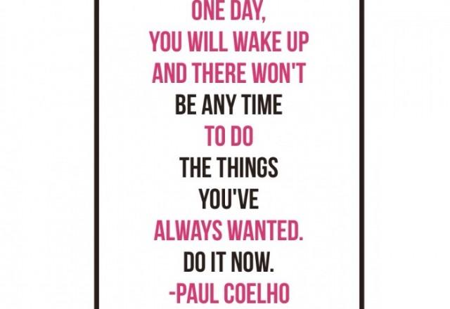 Wednesday Words of Wisdom – Paul Coelho