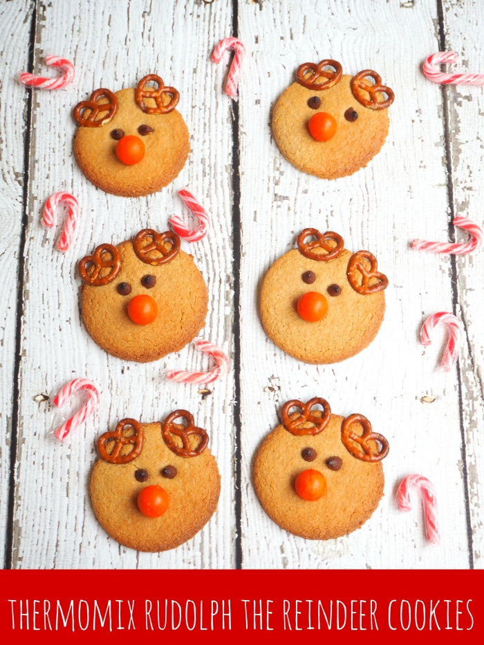 Thermomix Rudolph the Reindeer Cookies