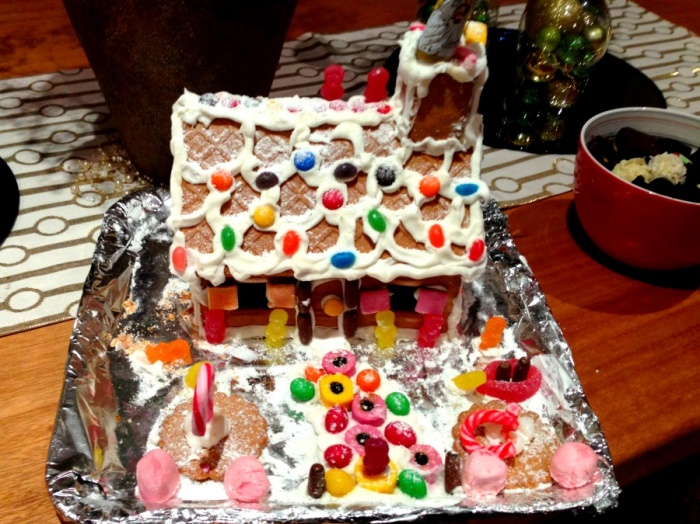 Christmas Eve Gingerbread House