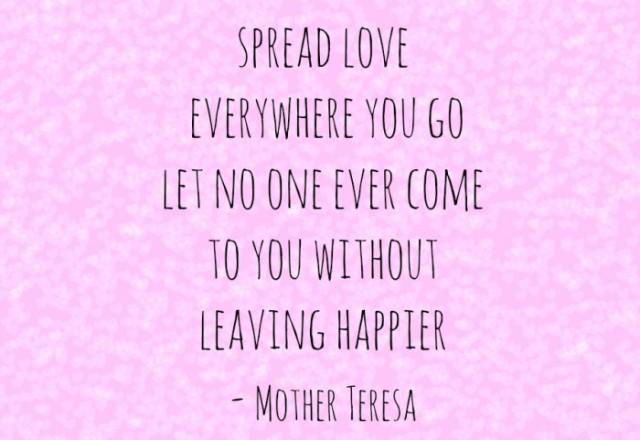 Wednesday Words of Wisdom – Spread Love