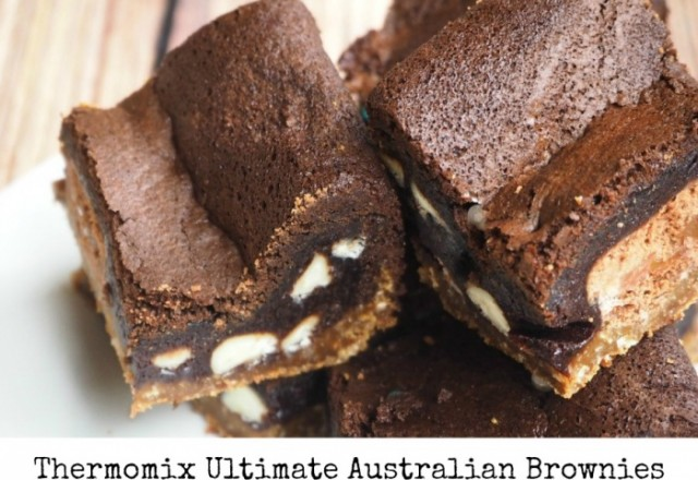 Thermomix Ultimate Australian Brownies