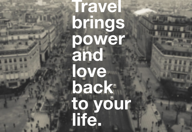 Wednesday Words of Wisdom – Travel