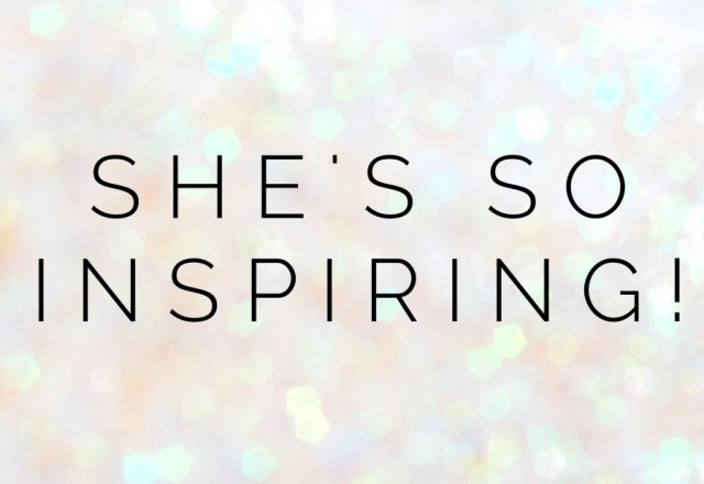 She's So Inspiring – Lauren Matheson
