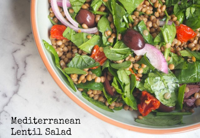 Meatless Monday – Mediterranean Lentil Salad