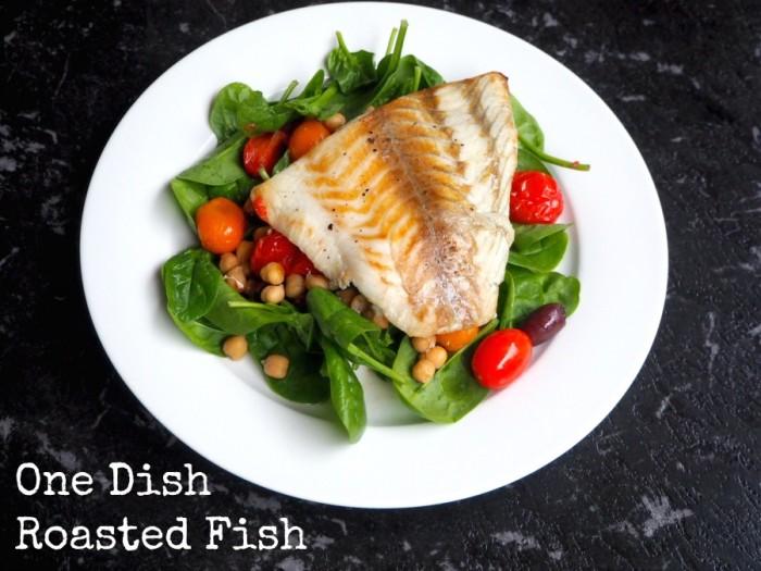 One Dish Roasted Fish