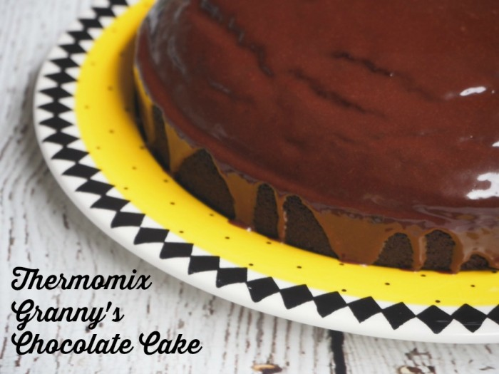 Thermomix Granny's Chocolate Cake