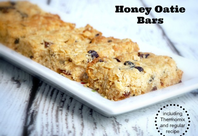 Honey Oatie Bars