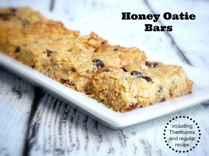 Honey Oatie Bars
