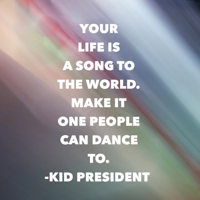 Song to the world - Kid President