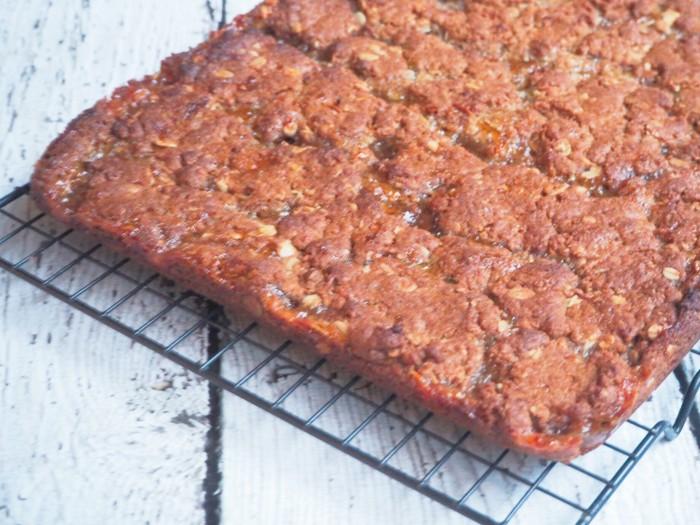 Thermomix ANZAC marmalade slice