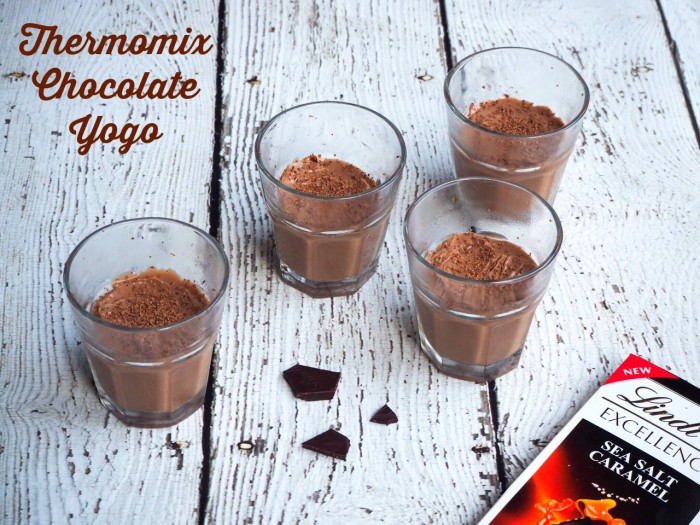 Thermomix Chocolate Yogo